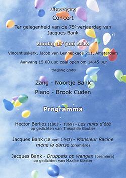 Jacques Bank Composer News